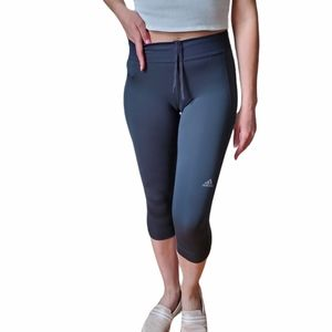 Adidas Climalite Grey Capri Leggings